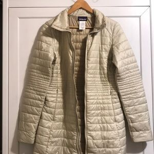Patagonia women's long puffer coat size medium